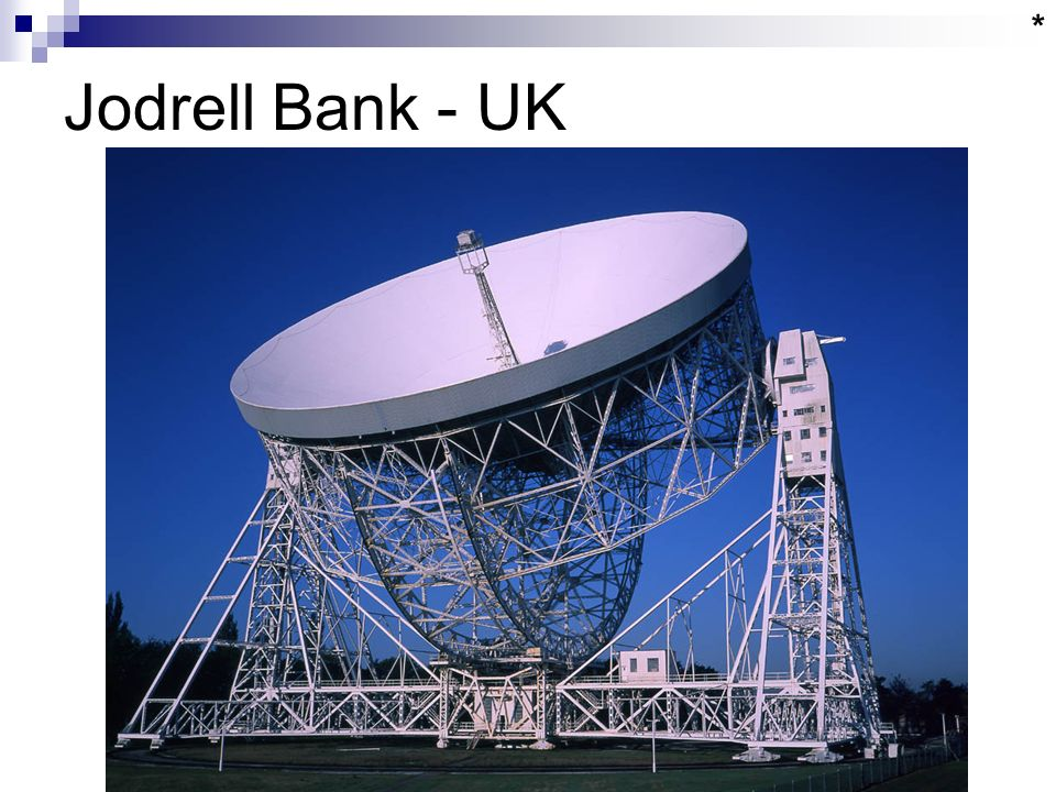 Jodrell Bank - UK *