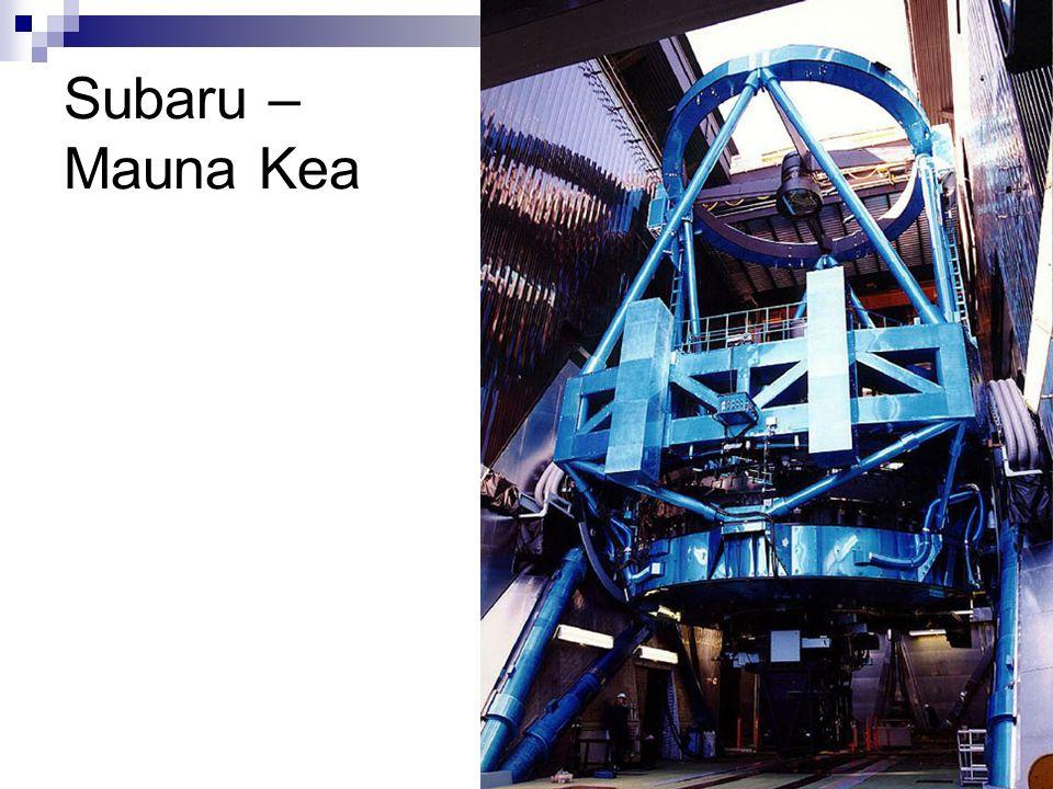 Subaru – Mauna Kea