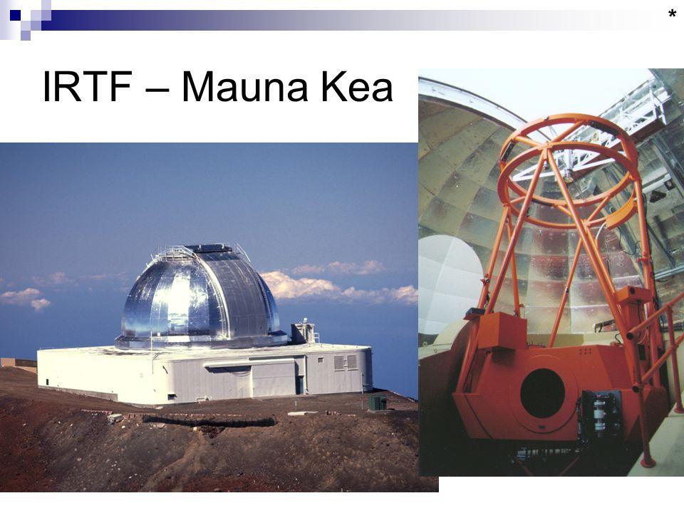 IRTF – Mauna Kea *