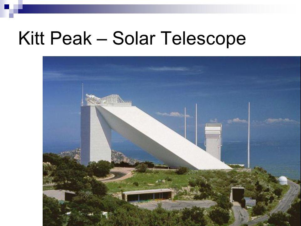 Kitt Peak – Solar Telescope
