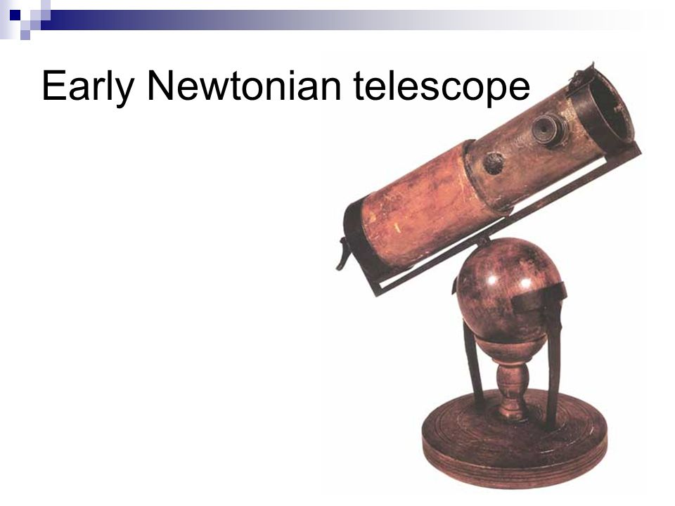 Early Newtonian telescope