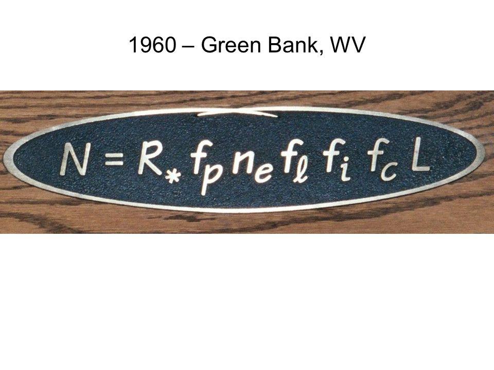 1960 – Green Bank, WV