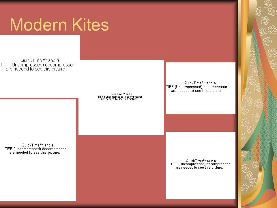 Modern Kites
