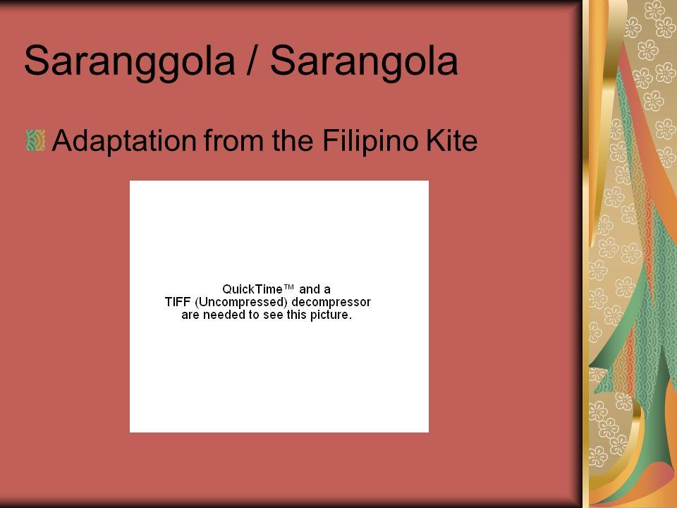 Saranggola / Sarangola Adaptation from the Filipino Kite