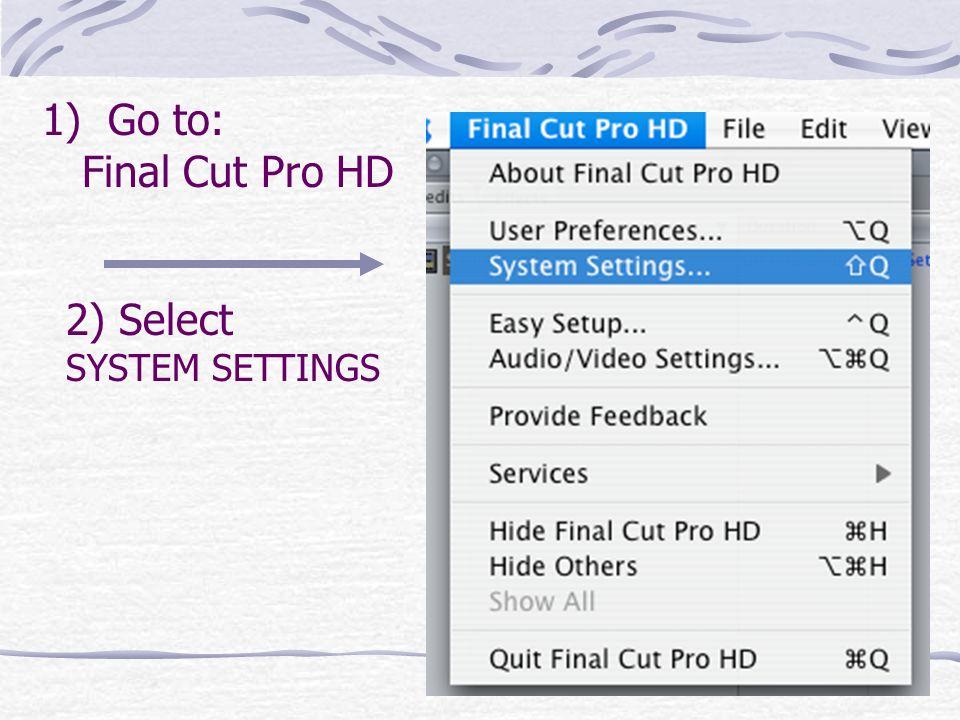 Final Cut Pro screen