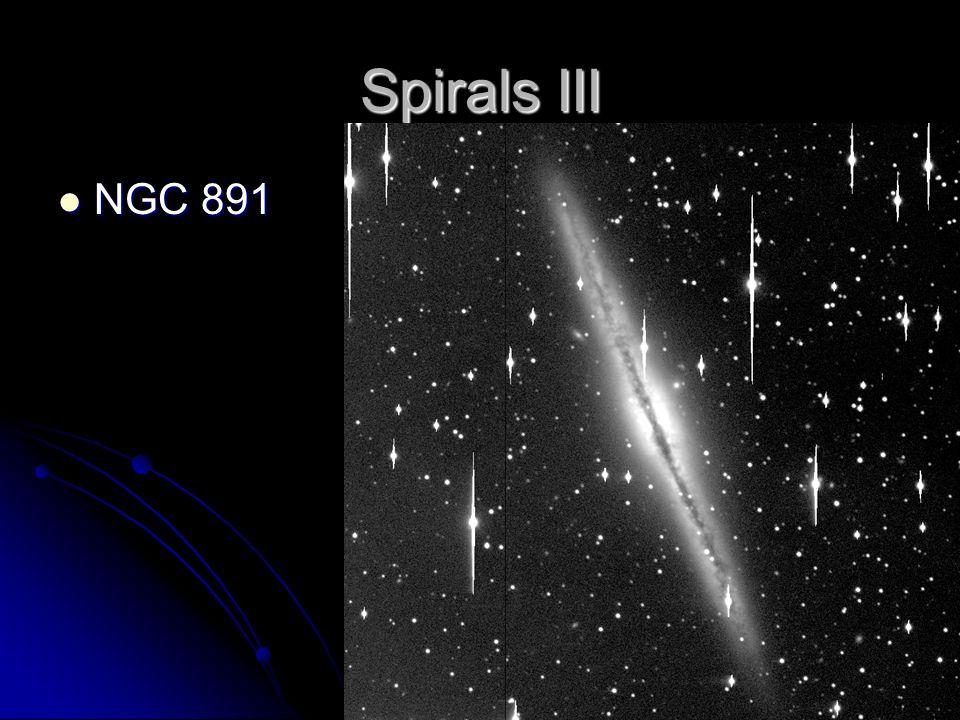 Spirals III NGC 891 NGC 891