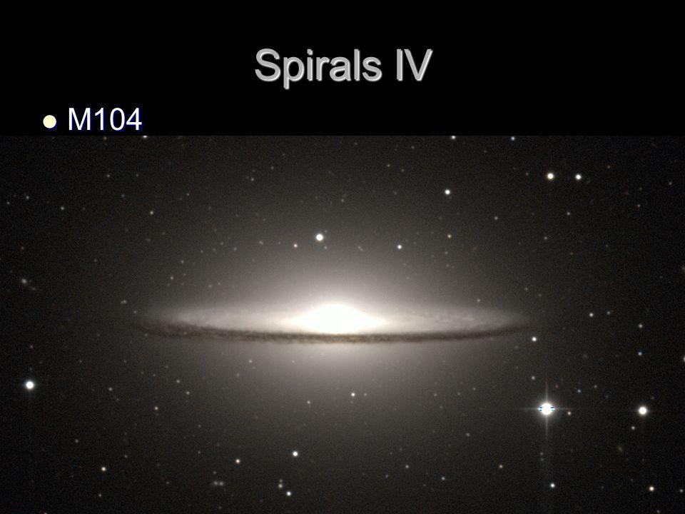 Spirals IV M104 M104
