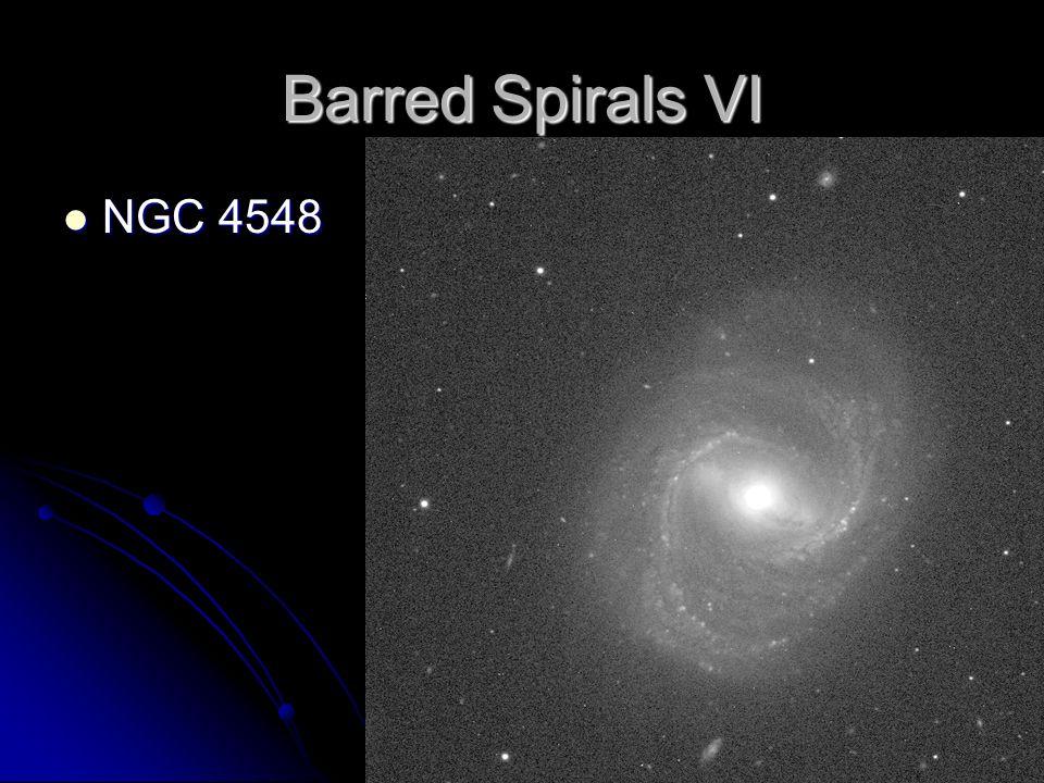 Barred Spirals VI NGC 4548 NGC 4548