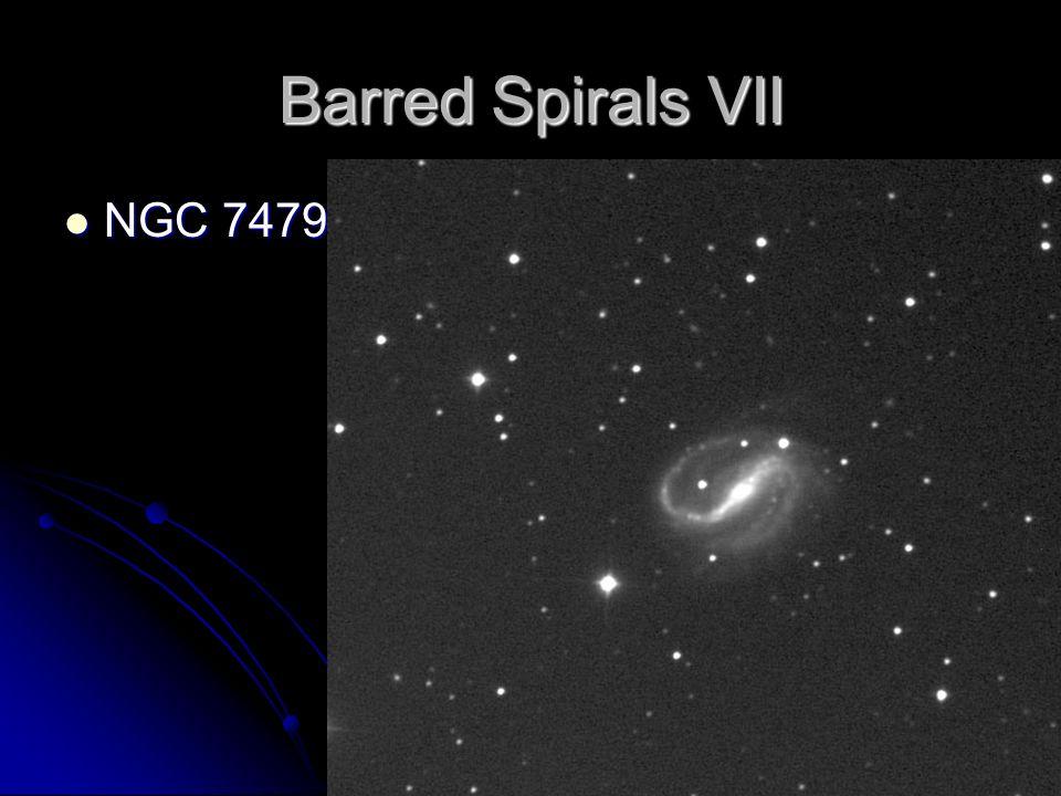 Barred Spirals VII NGC 7479 NGC 7479