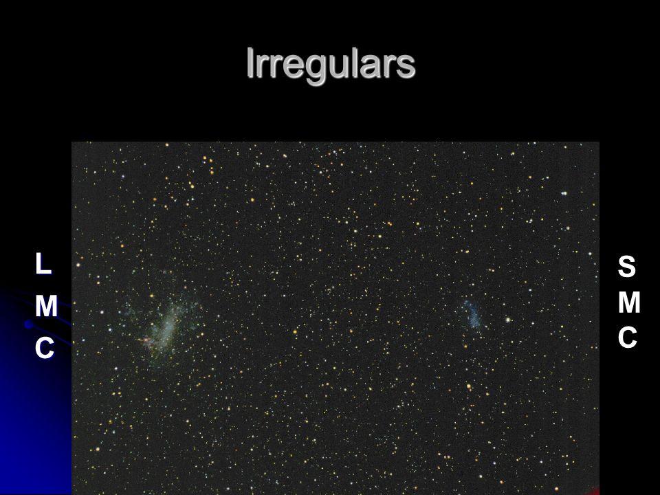 Irregulars LMC SMCSMC