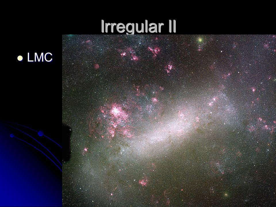 Irregular II LMC LMC