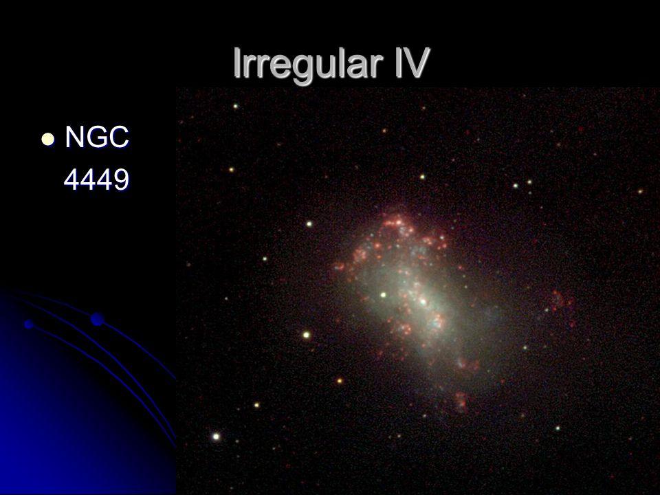 Irregular IV NGC NGC 4449 4449