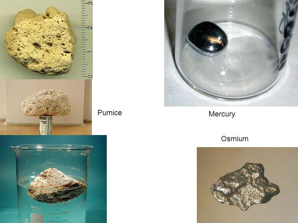 Mercury Osmium Pumice