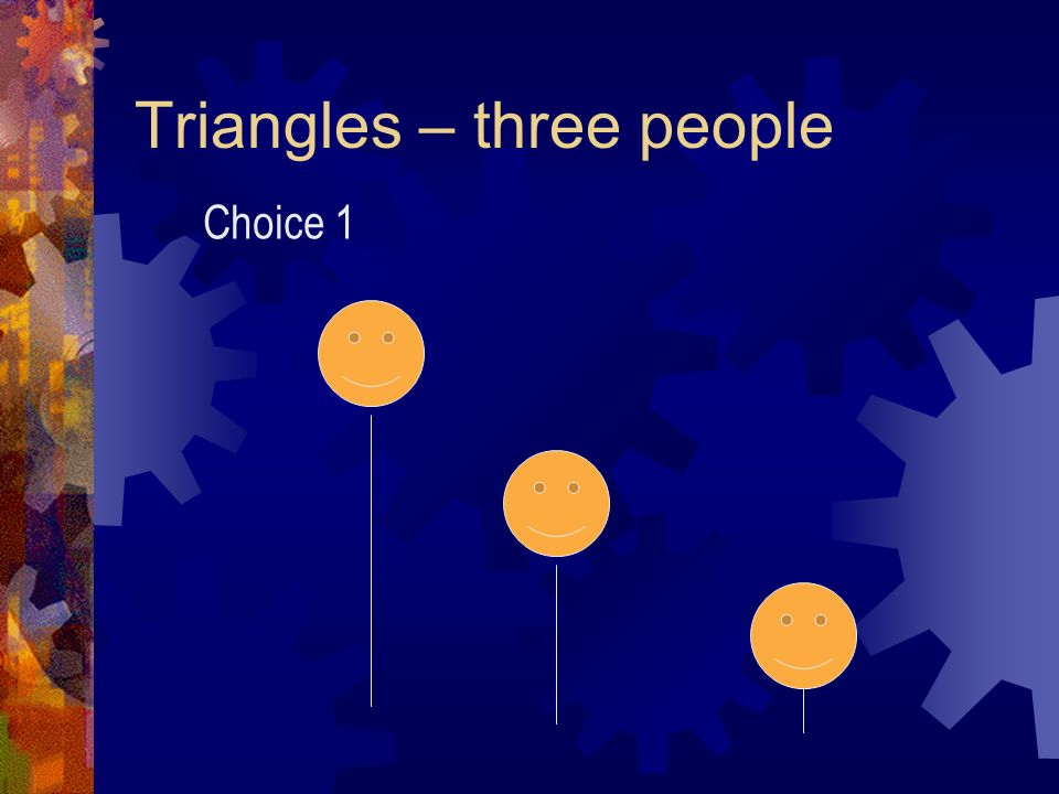 Rule of Thirds Triangles – three people Objective - create BALANCE