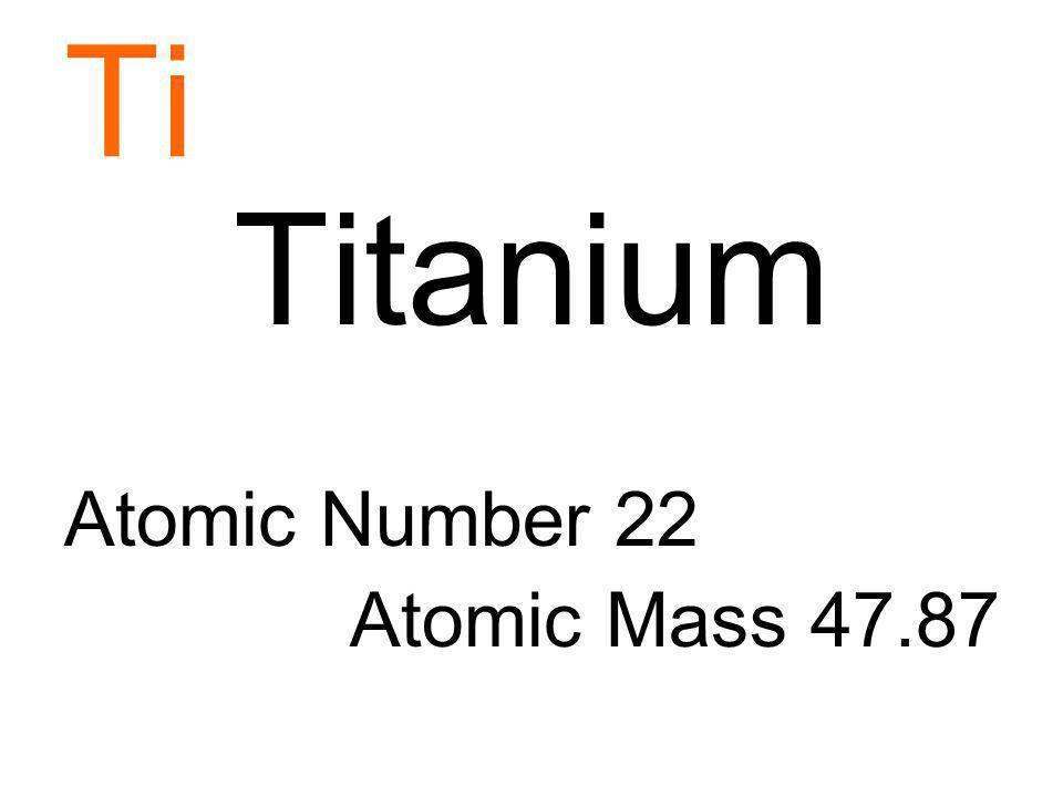 Titanium thinglink divtitanium atomic number and atomic massdiv imagesideplayer urtaz Choice Image