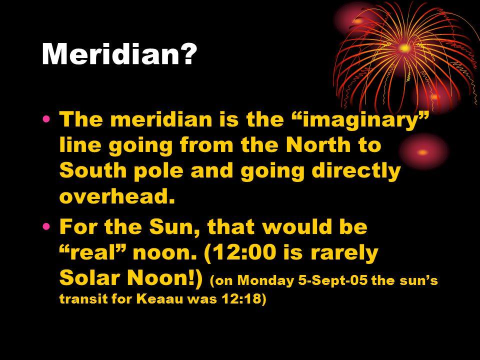 Meridian.