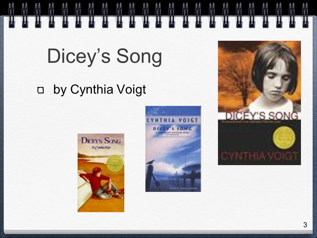 Diceys Song by Cynthia Voigt 3
