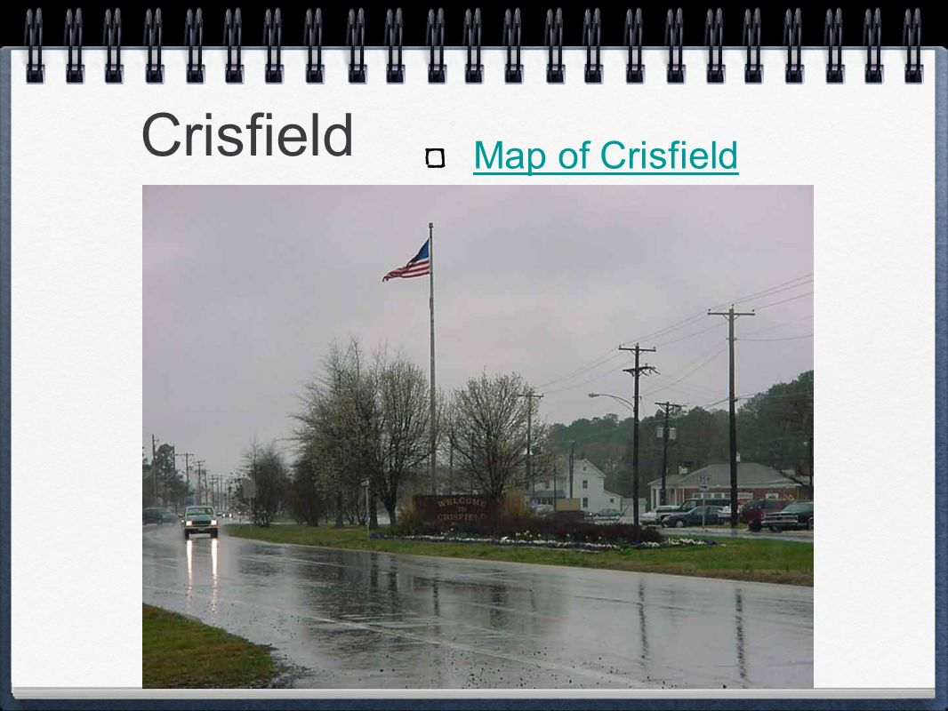 Crisfield Map of Crisfield