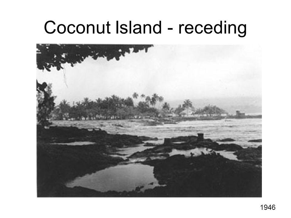 Coconut Island - receding 1946