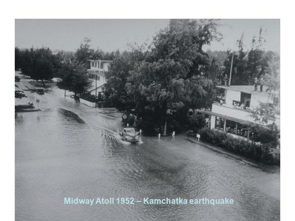 Midway Atoll 1952 – Kamchatka earthquake