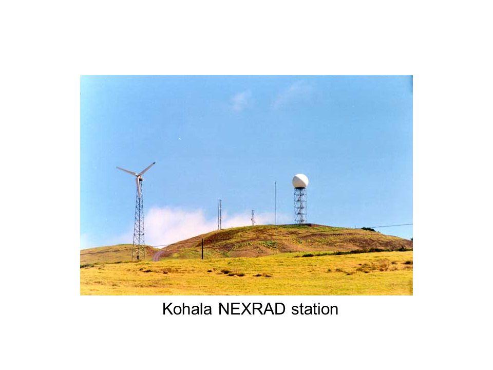 Kohala NEXRAD station