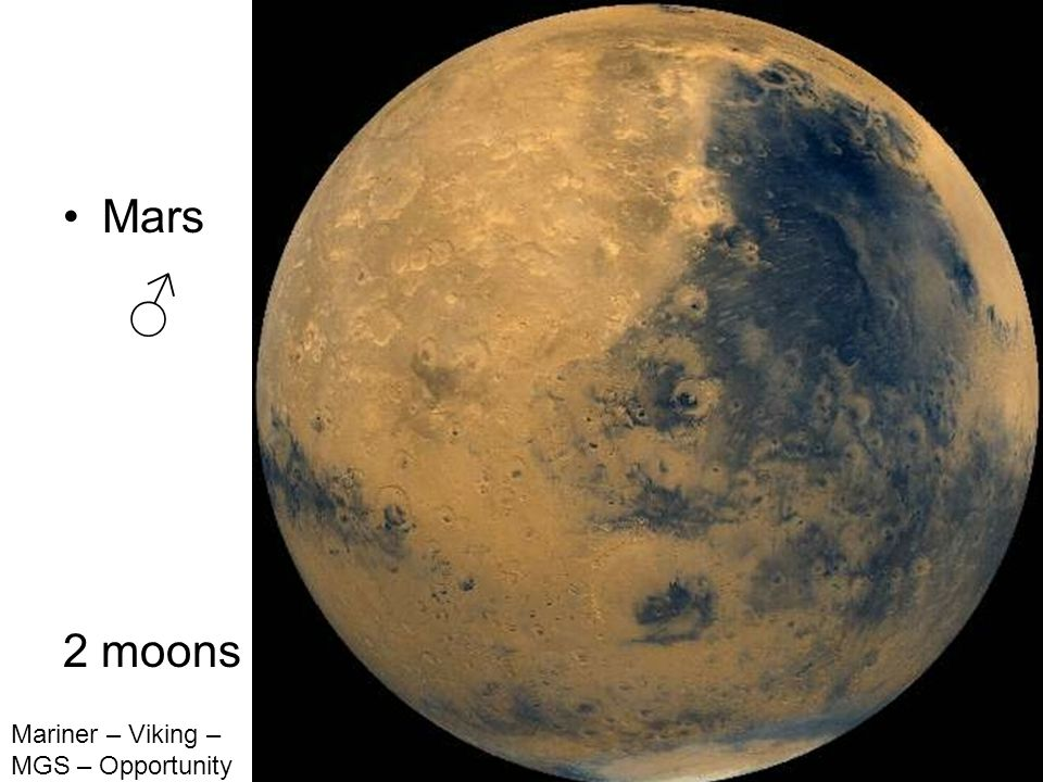 Mars 2 moons Mariner – Viking – MGS – Opportunity