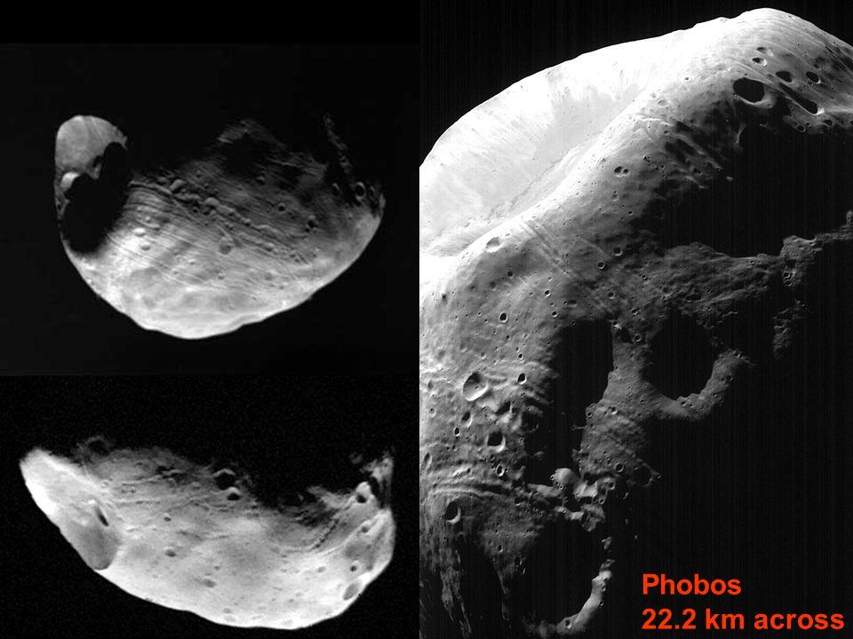 Phobos 22.2 km across