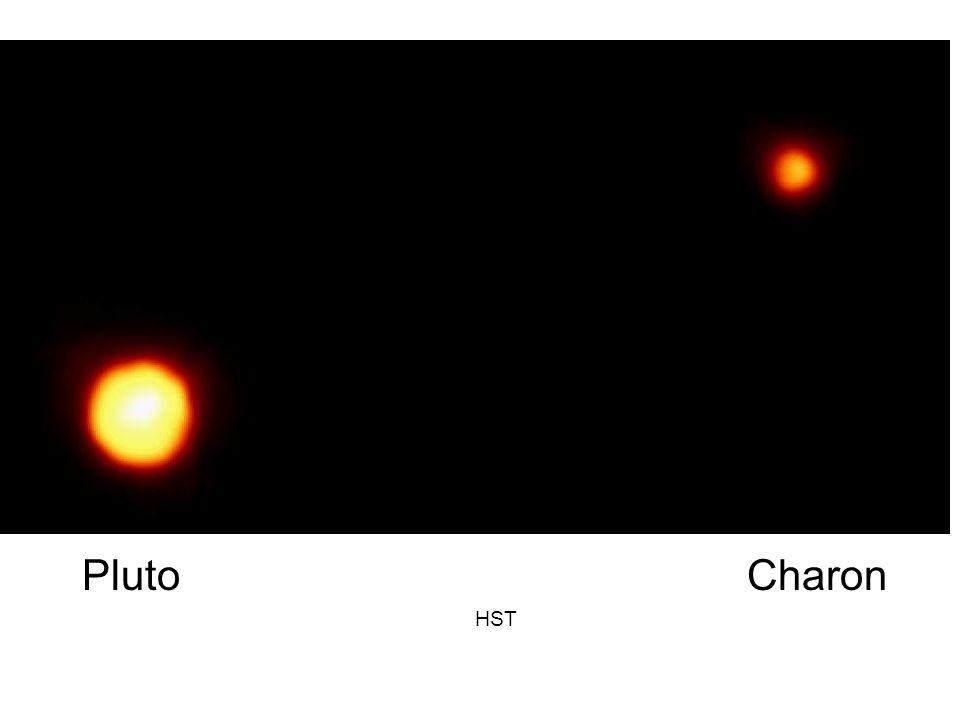 Pluto Charon HST