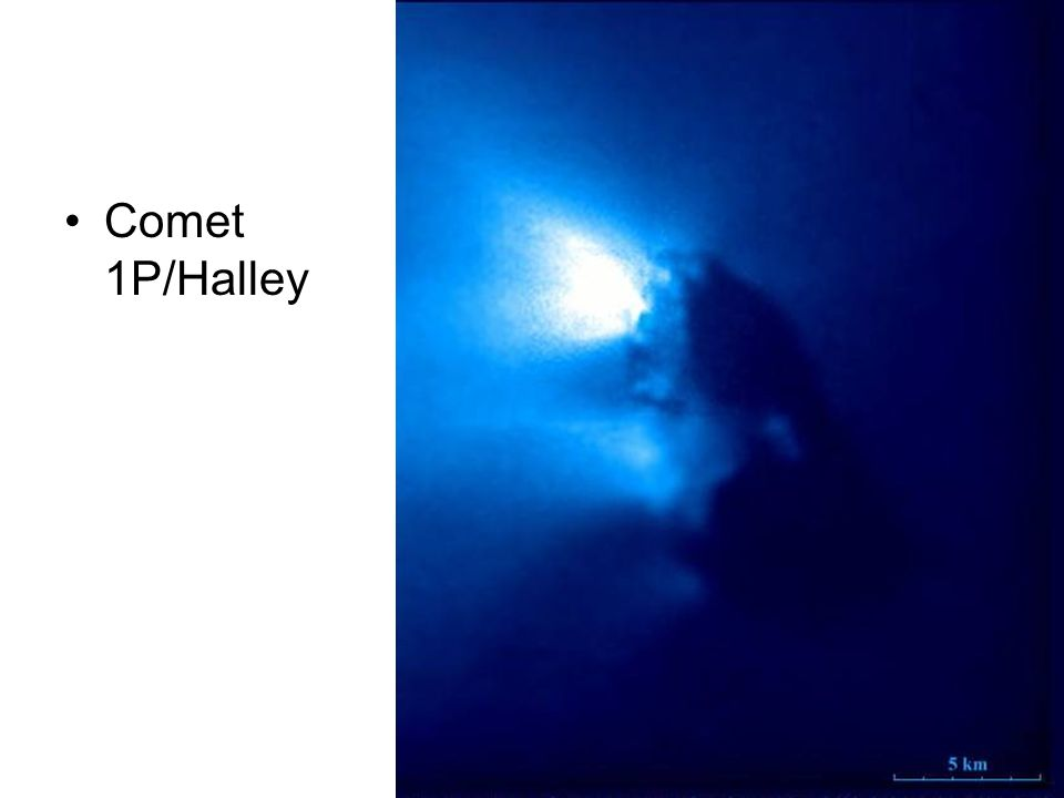 Comets Comet 1P/Halley