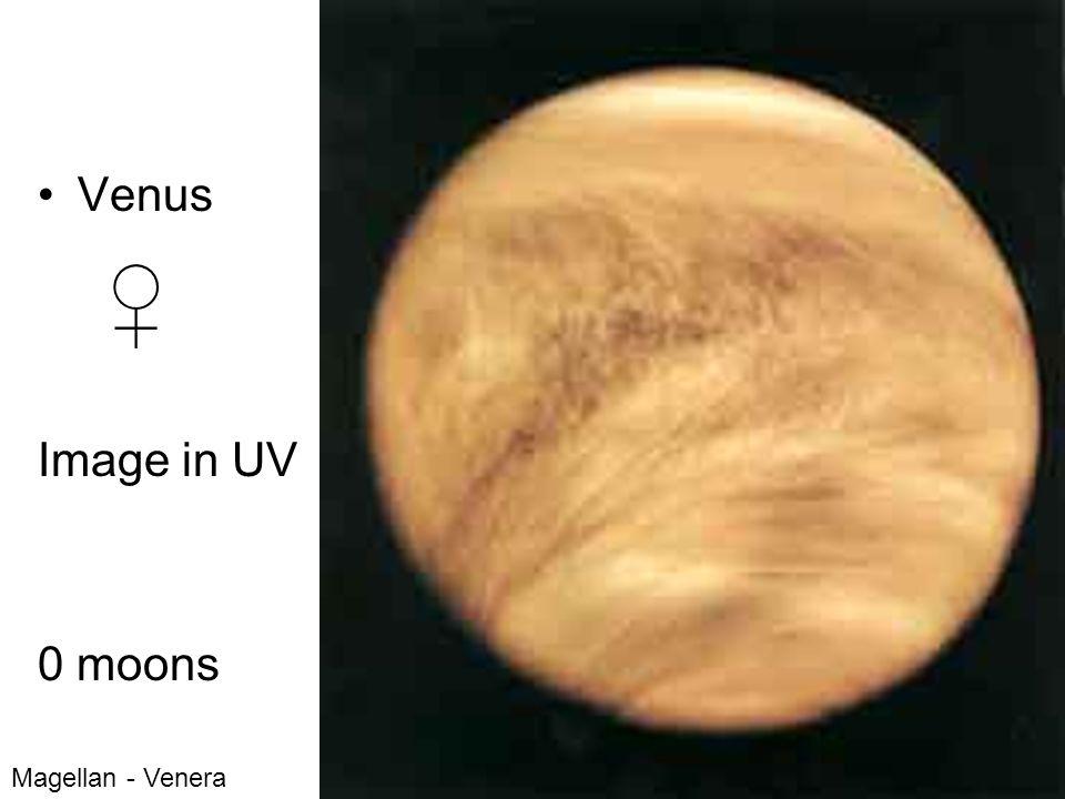 Venus Image in UV 0 moons Magellan - Venera
