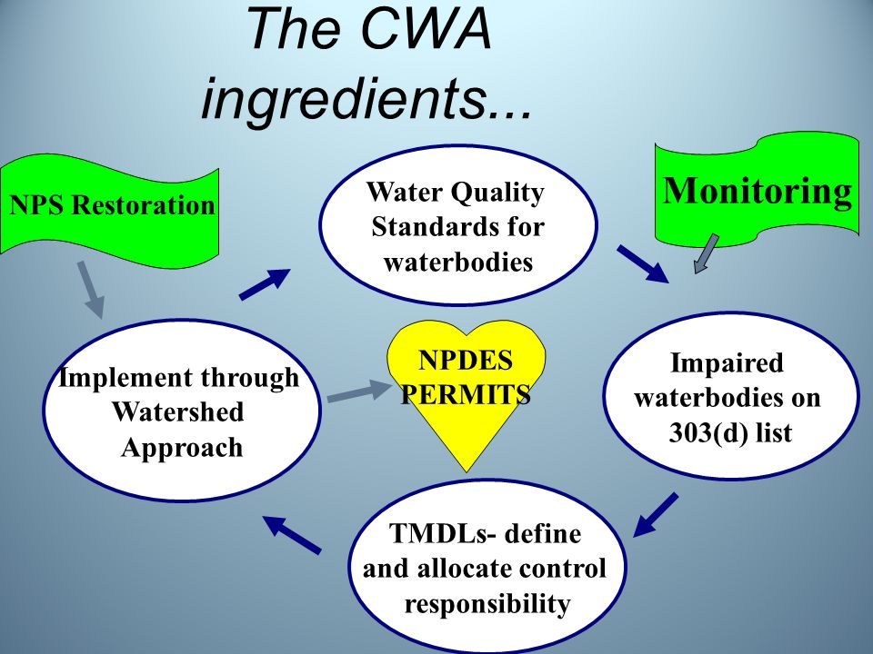 The CWA ingredients...