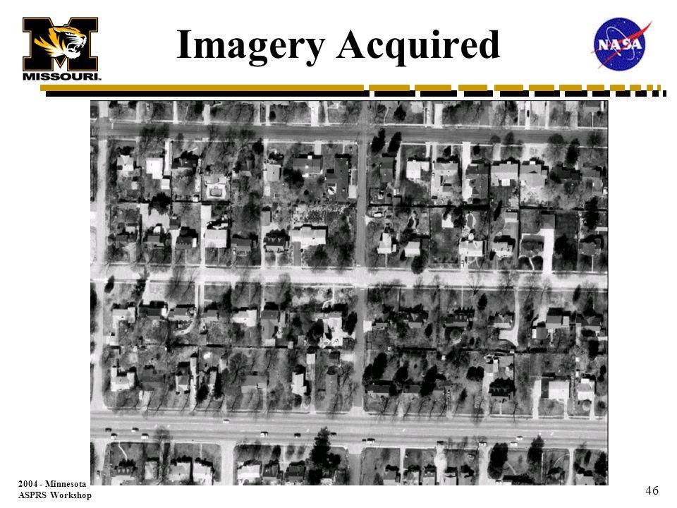 2004 - Minnesota ASPRS Workshop 45 GIS Vector Linework