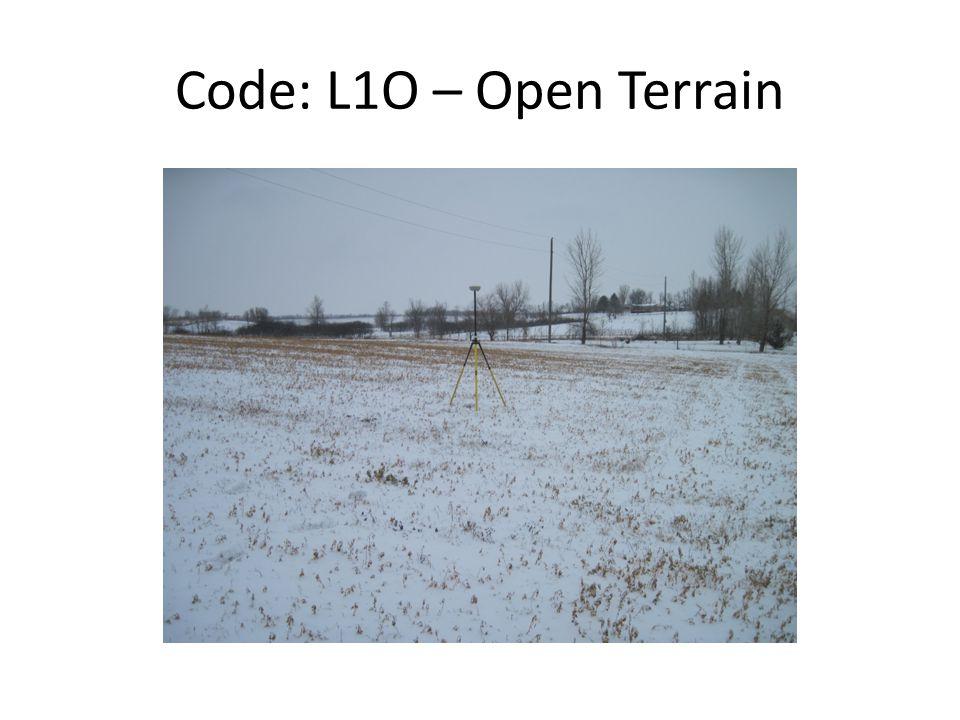 Code: L1O – Open Terrain