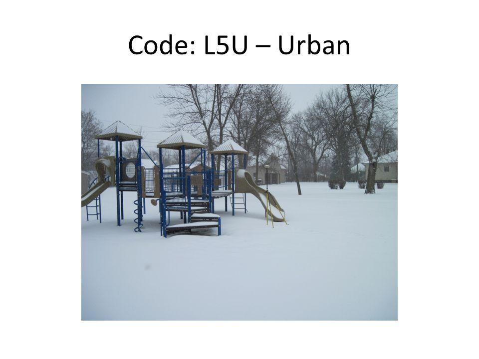 Code: L5U – Urban