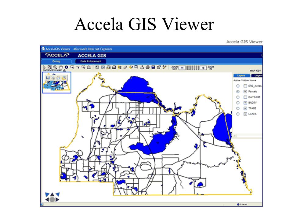 Accela GIS Viewer