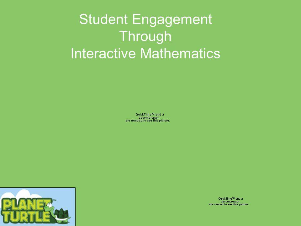 Student Engagement Through Interactive Mathematics