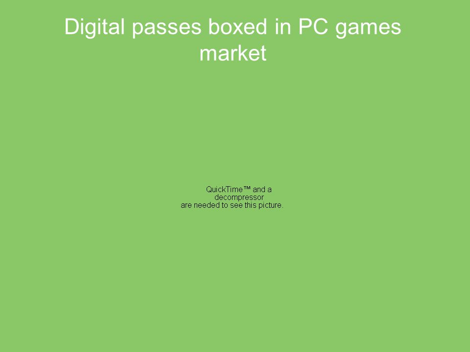 Digital passes boxed in PC games market