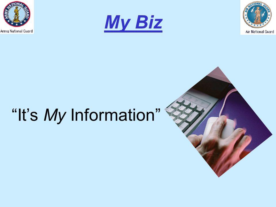 Its My Information My Biz