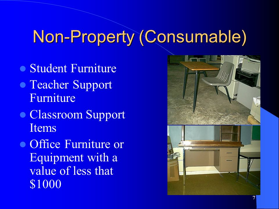 8 Reutilization Prior to sale consideration, efforts are made to relocate useable property within the school district.