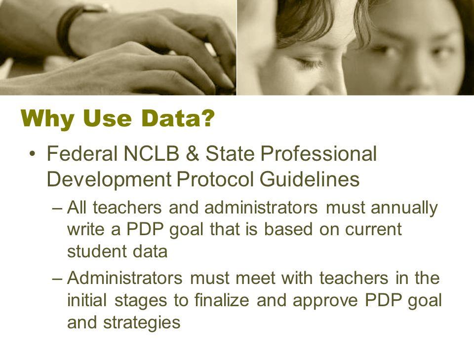 Sample PDP Goals Blue Sheet