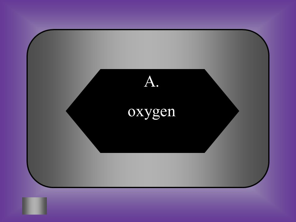 A:B: oxygencarbon dioxide #6 What gas is produced during photosynthesis C:D: nitrogenhelium