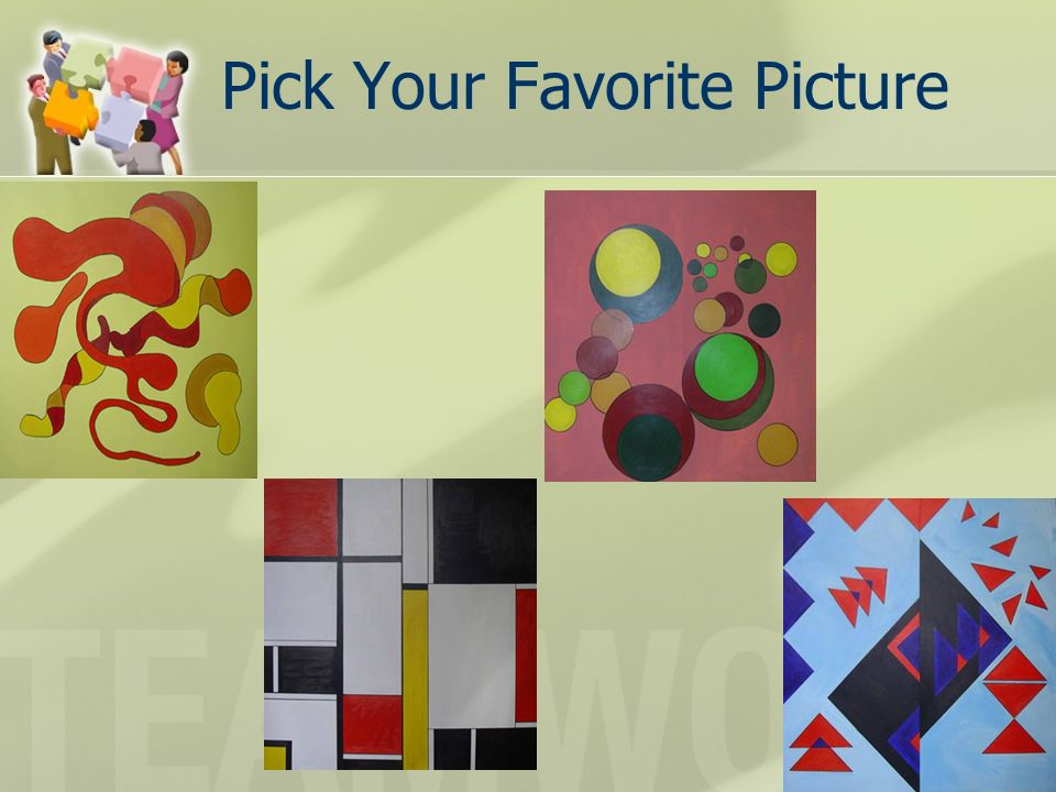 Pick Your Favorite Picture