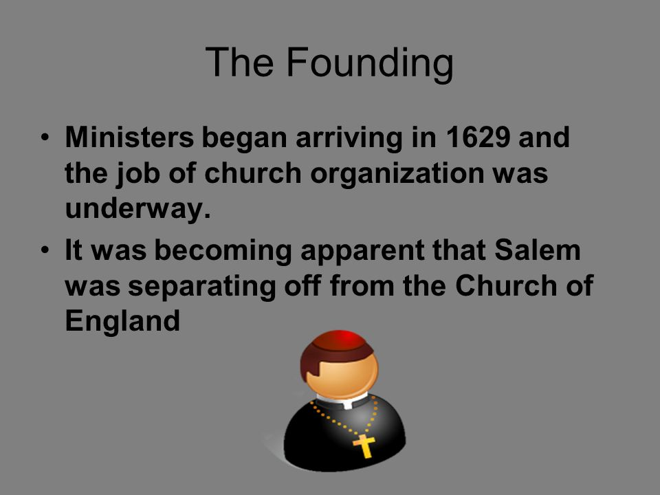 The Founding Naumkeag was an area previously named by Native Americans which literally translated to 'eel land' Naumkeag was renamed to Salem in 1629