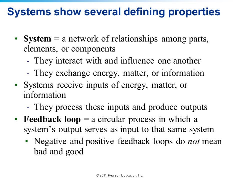 © 2011 Pearson Education, Inc.QUESTION: Review What is the definition of secondary production.