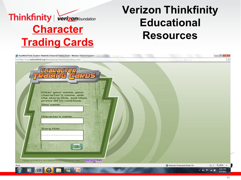 10 Verizon Thinkfinity Educational Resources Shape it Up!