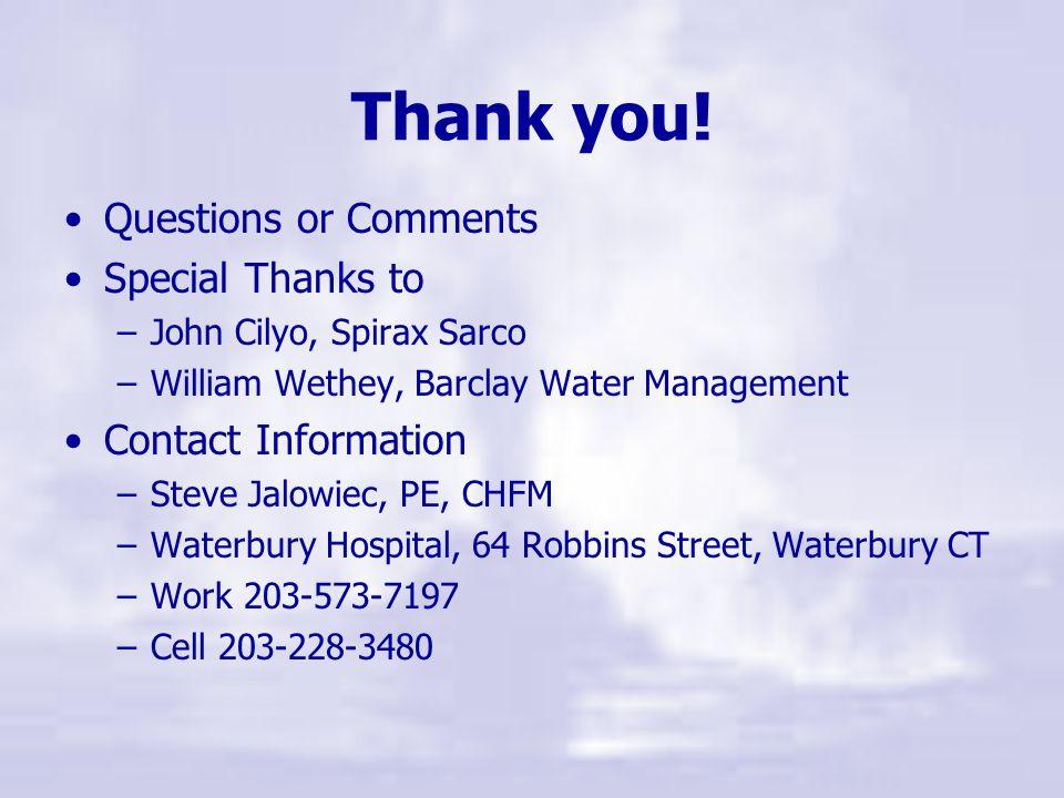 Now what do I do Steam Trap Repairs Steam Trap Survey & Assessment Steam Trap Maintenance Program Boiler Water Treatment Modification Steam Conditioni