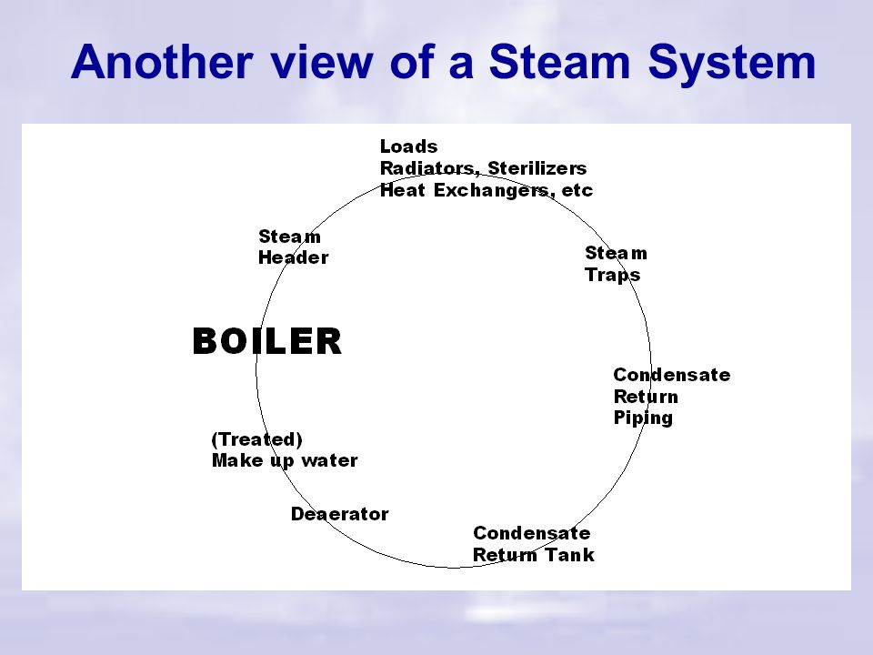 Steam System Troubleshooting Belts & suspenders Steam separators & filters Wet Steam Dry Steam Condensate Outlet