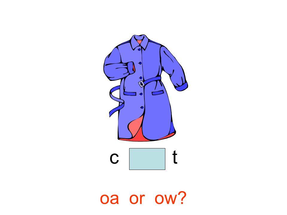 c o a t oa or ow?