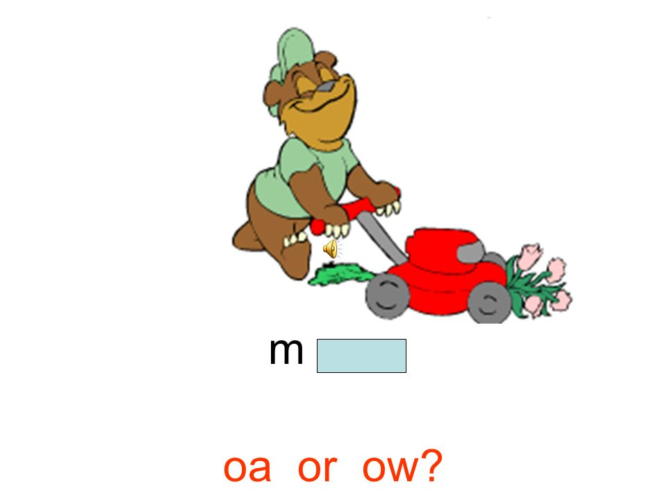 m o w oa or ow?