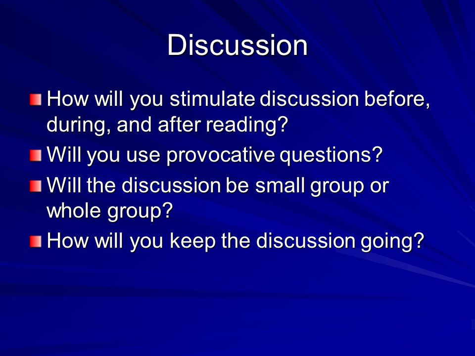 Strategy Instruction For readings that are to be completed using guided instruction: Which reading strategies will you model for the students.